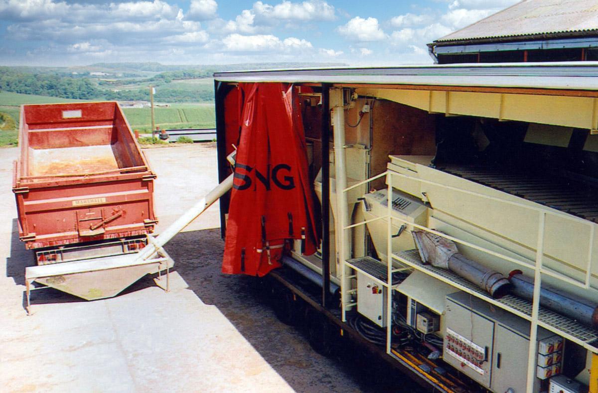 SAS Polska czyszczenie i zaprawianie nasion